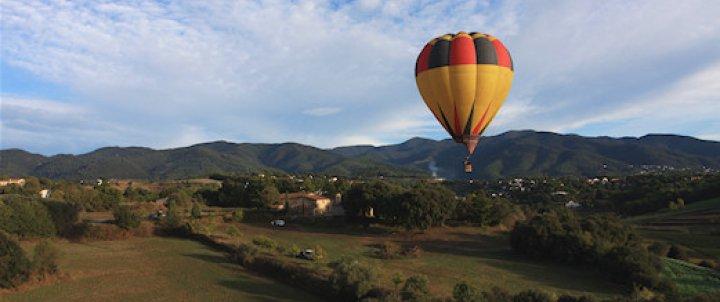 Vol en globus, descobreix el Vallès Oriental des de l'aire