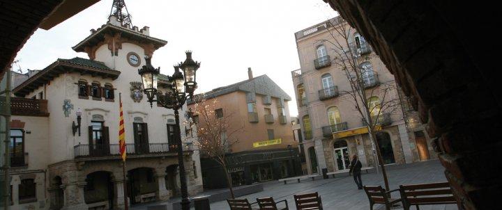 Ruta audiosignada pel centre de la vila de Sant Celoni